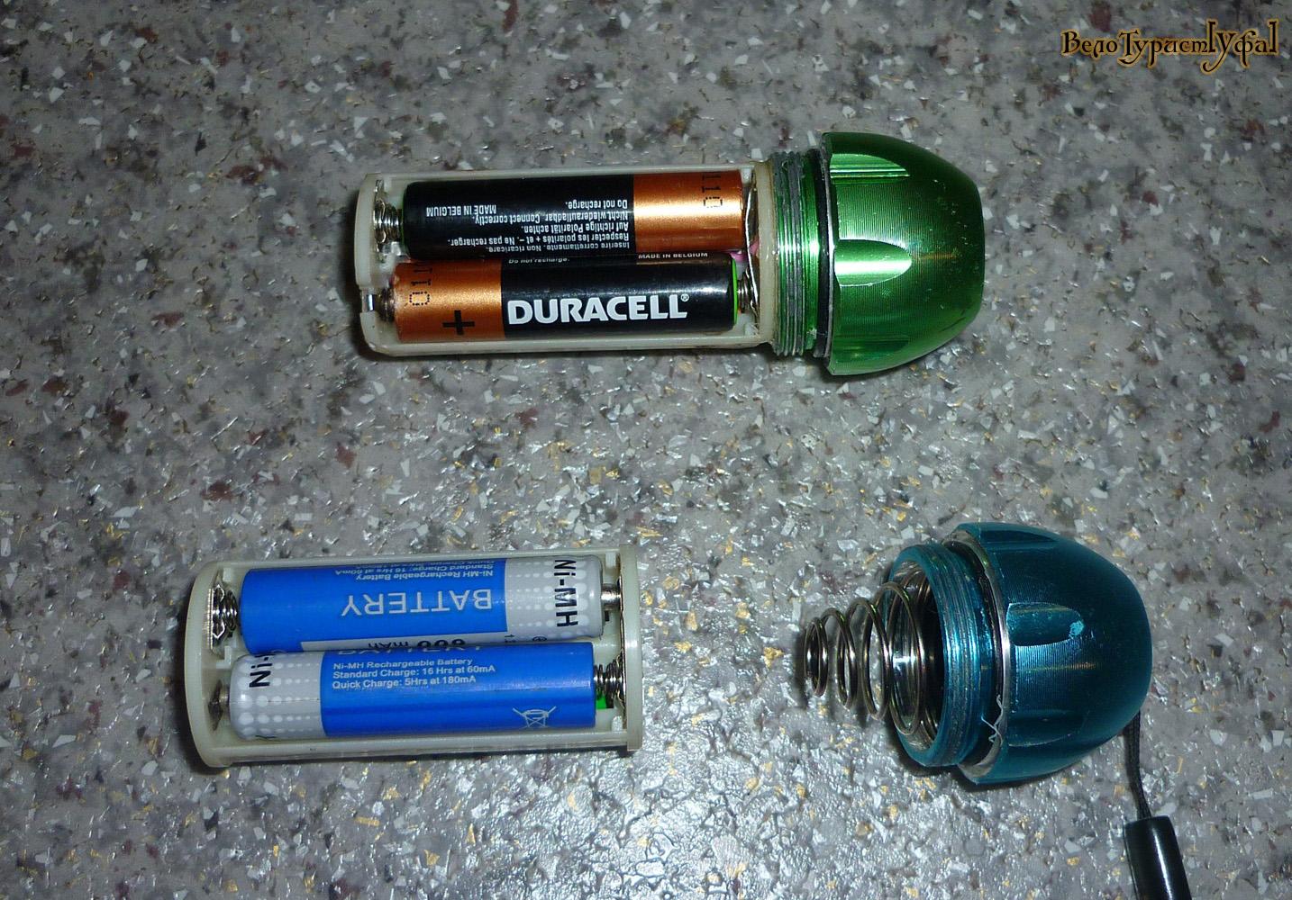 Отсеки для аккумуляторов своими руками
